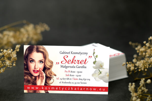 white name card mock up for marketing,branding and printing.
